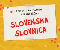 Priprave na maturo iz slovenščine - slovenska slovnica